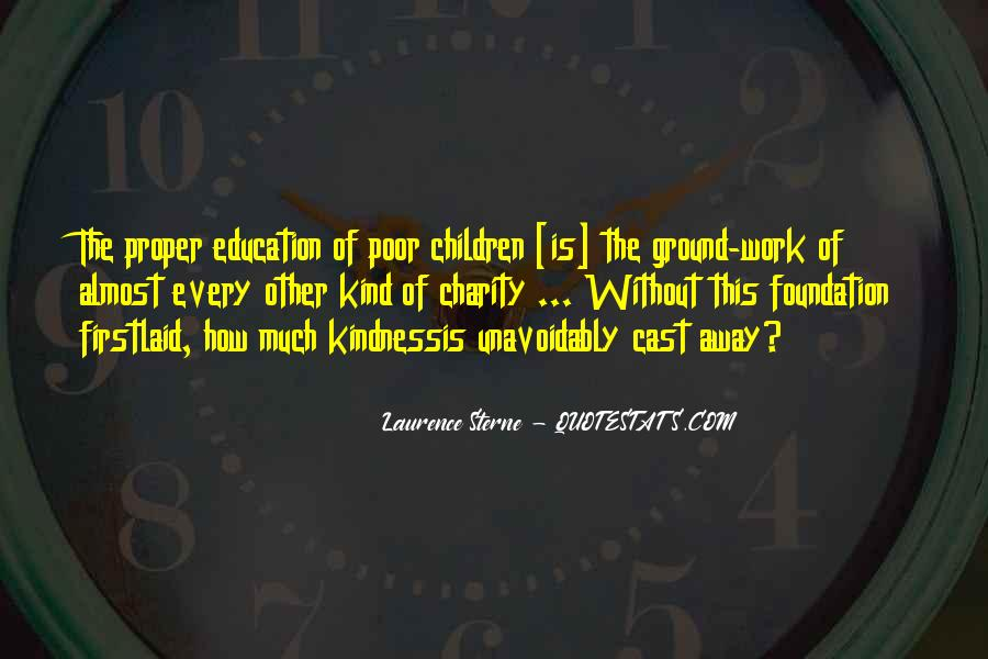 Quotes About Poor Education #426887