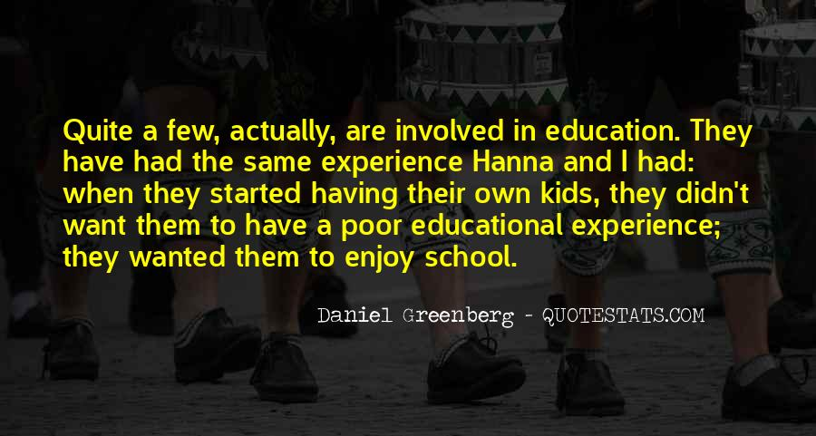 Quotes About Poor Education #766071
