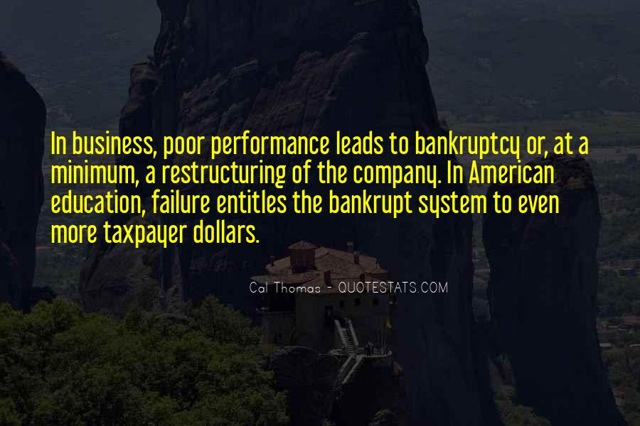 Quotes About Poor Education #901391