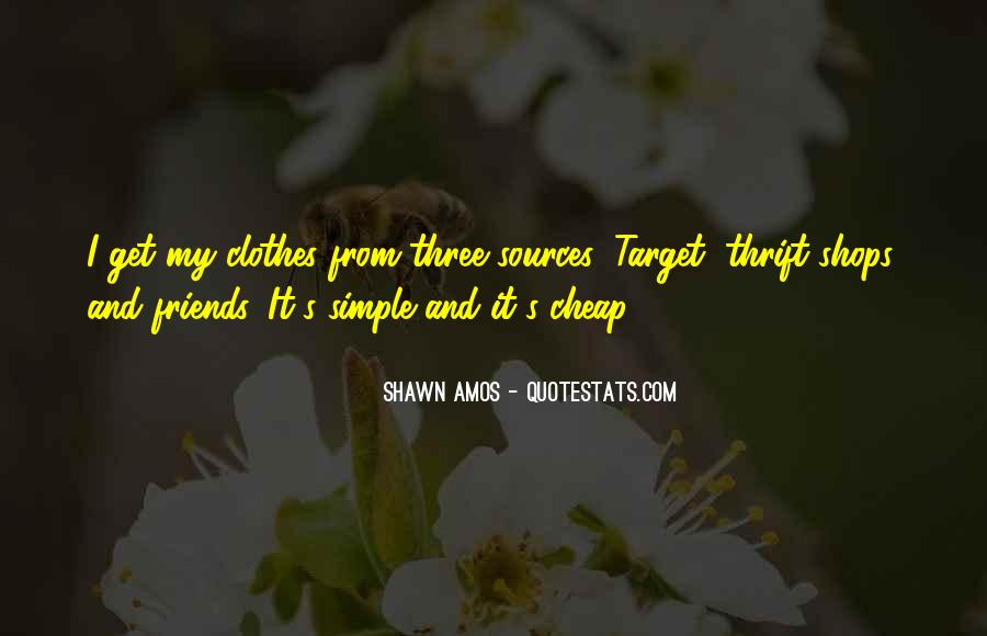 Quotes About Thrift Shops #1356086
