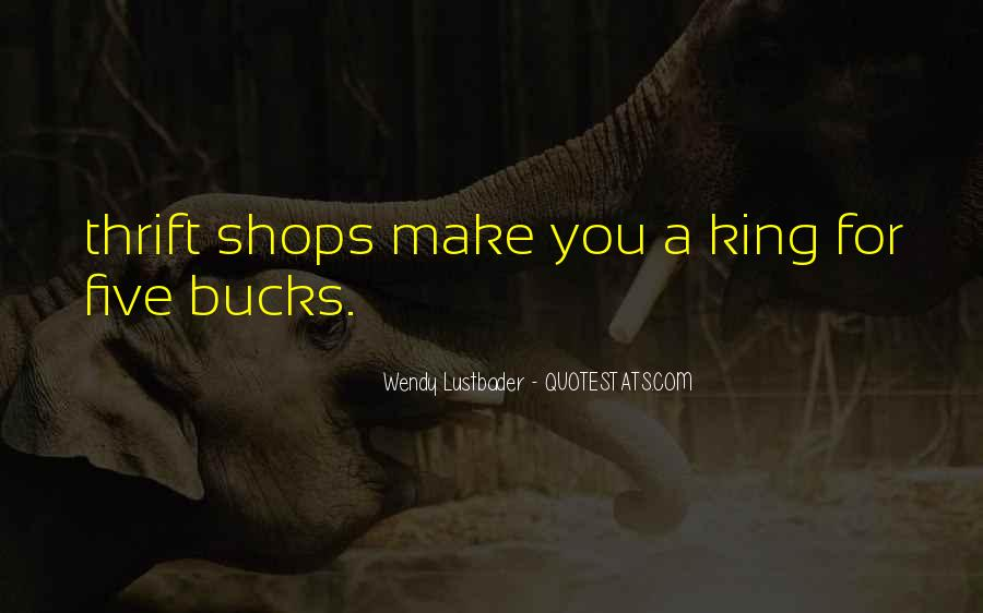 Quotes About Thrift Shops #226254
