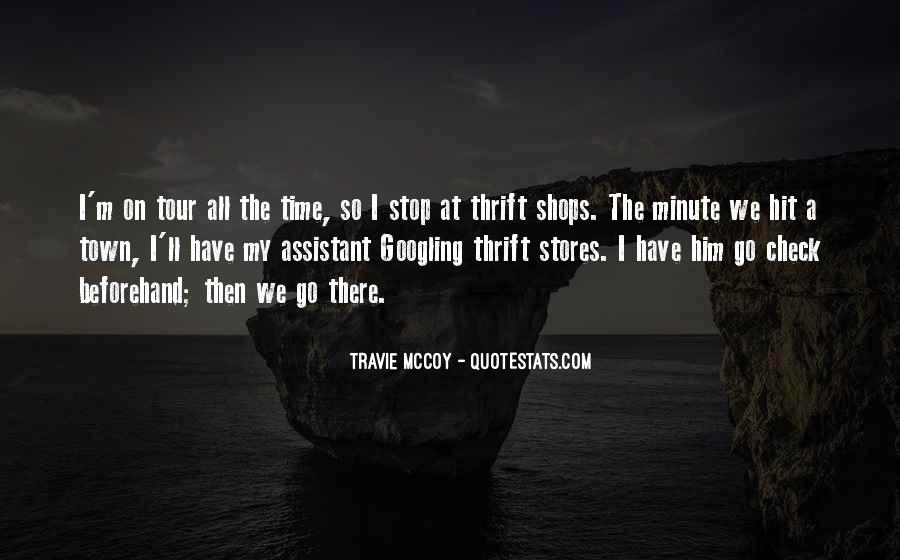Quotes About Thrift Shops #266911