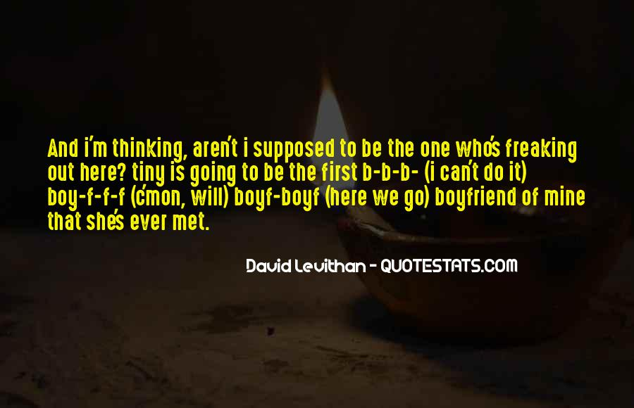Quotes About A Boy You Just Met #518141