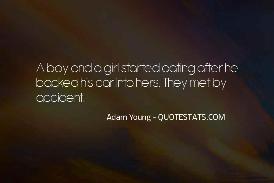 Quotes About A Boy You Just Met #830622