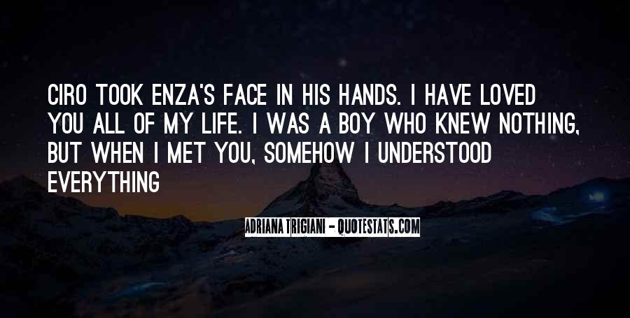 Quotes About A Boy You Just Met #917648