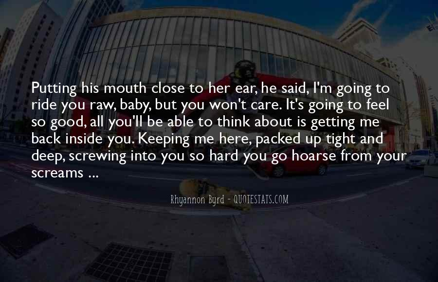 Quotes About Not Getting Close To Someone #158321