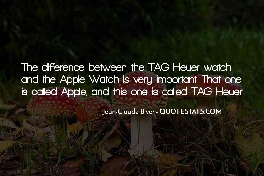 Quotes About Tag Heuer #642684