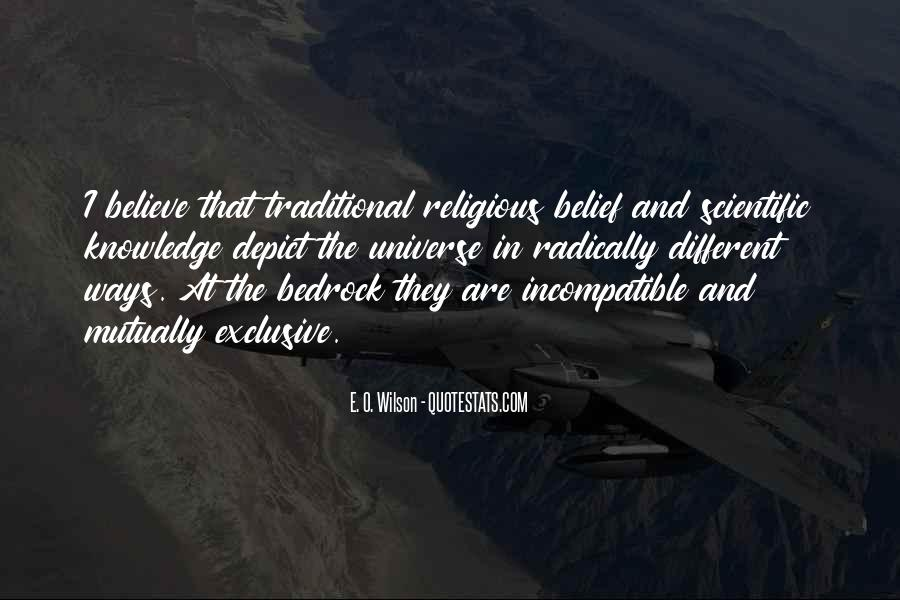 Quotes About Religious Different #1305689