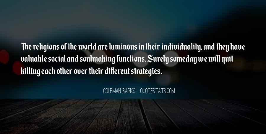 Quotes About Religious Different #1343123