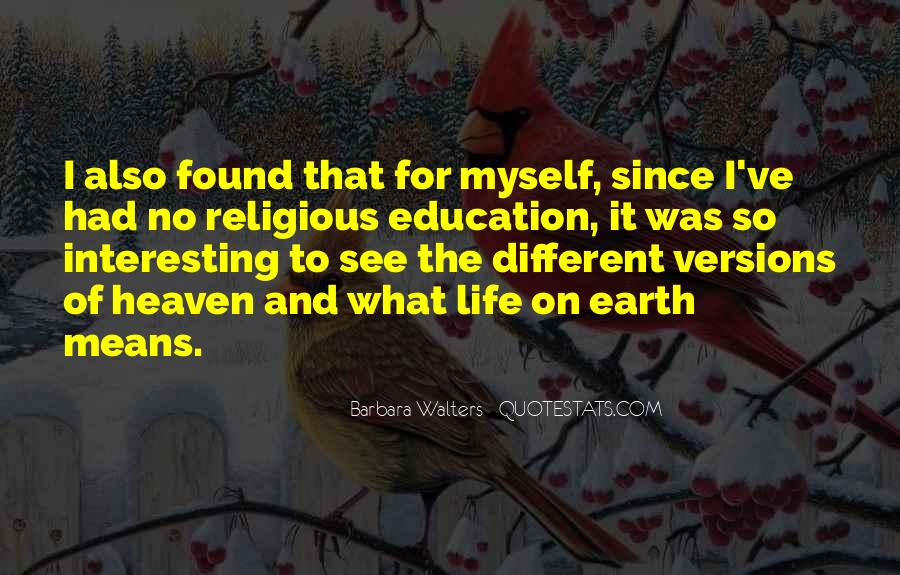Quotes About Religious Different #1521304