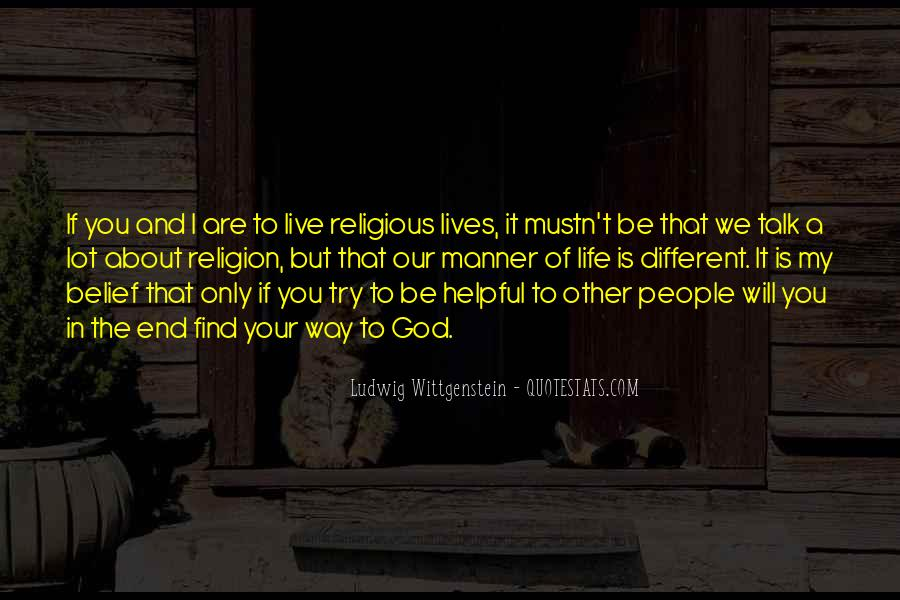 Quotes About Religious Different #1740856