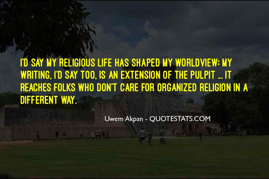 Quotes About Religious Different #1760750