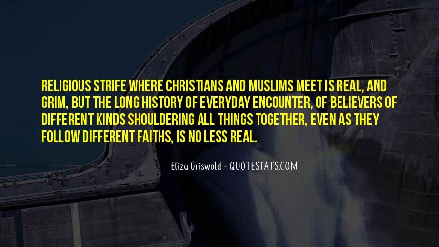 Quotes About Religious Different #1763162
