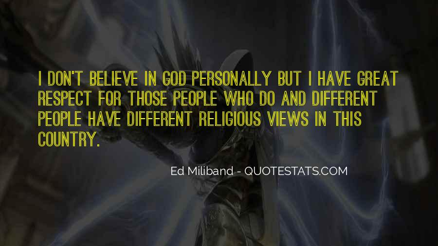 Quotes About Religious Different #1803904