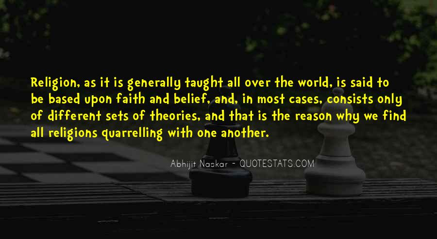 Quotes About Religious Different #464516