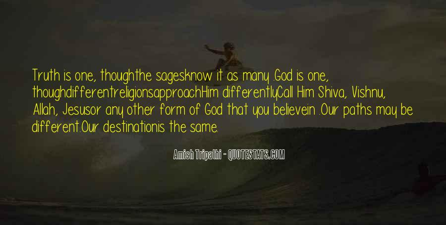 Quotes About Religious Different #609422