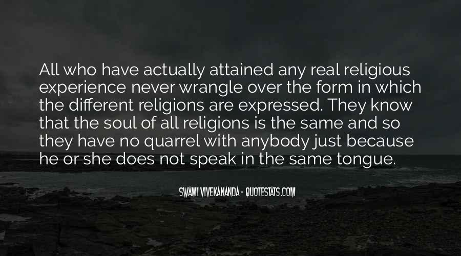 Quotes About Religious Different #871997