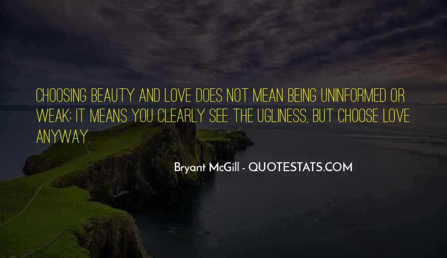 Quotes About Being Weak By Love #1643273