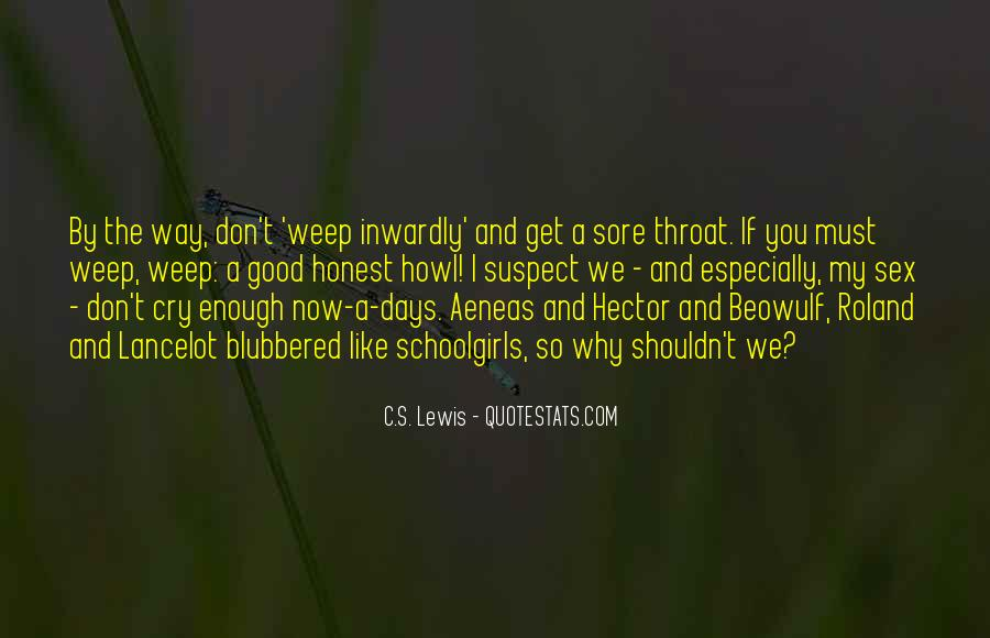 Quotes About Beowulf #106904