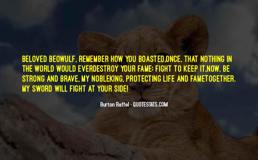 Quotes About Beowulf #244556