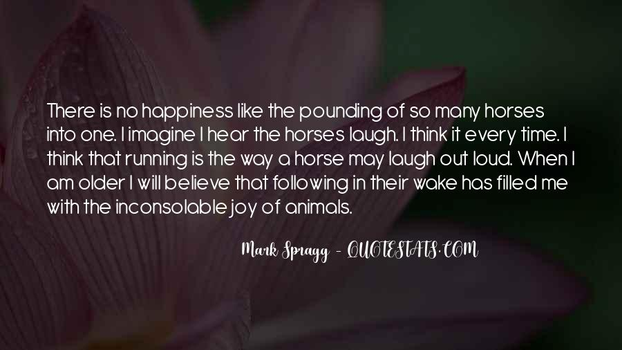 Quotes About Horses Running #620959