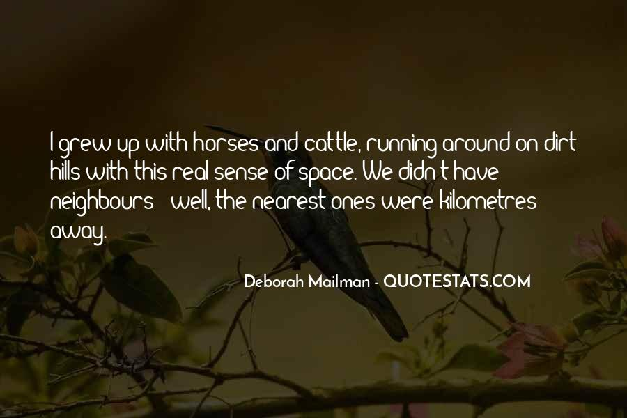 Quotes About Horses Running #773871