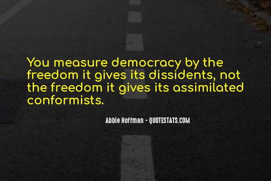 Quotes About Conformists #1656558