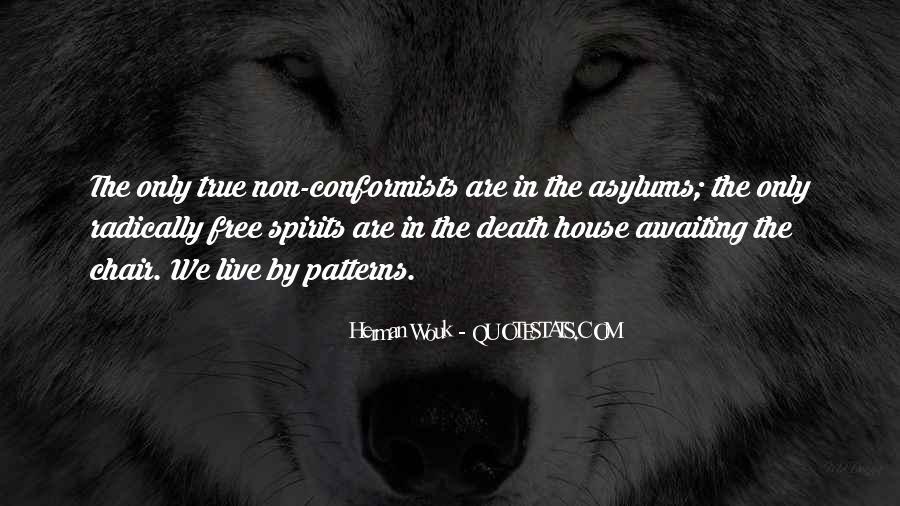 Quotes About Conformists #203661