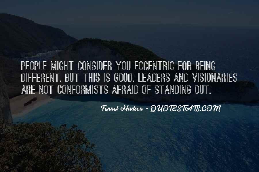 Quotes About Conformists #513287