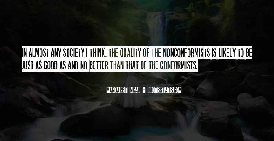 Quotes About Conformists #682745