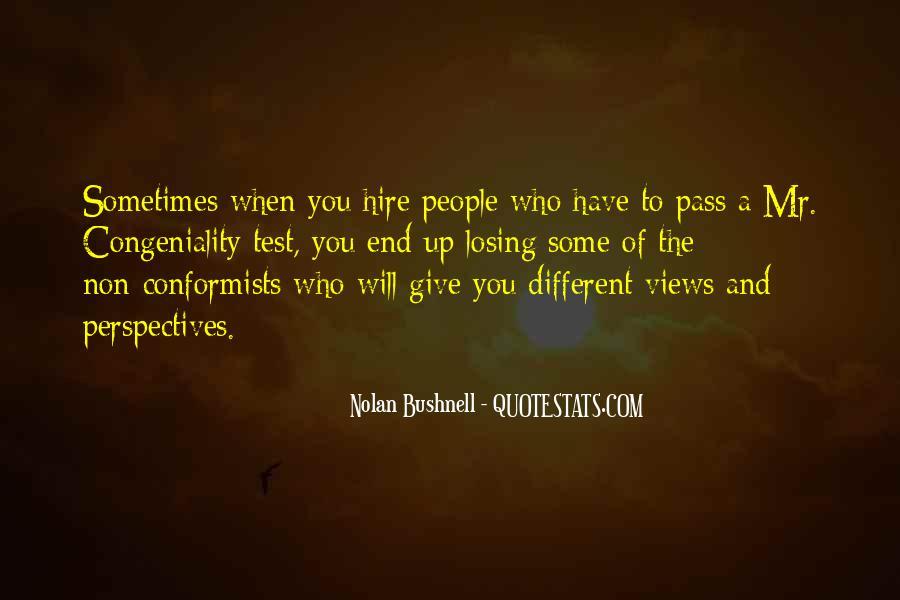 Quotes About Conformists #914696
