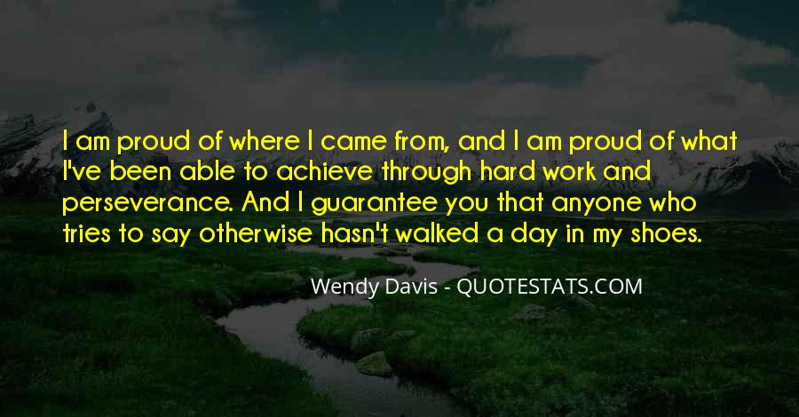 Quotes About Proud Of Who I Am #1726830