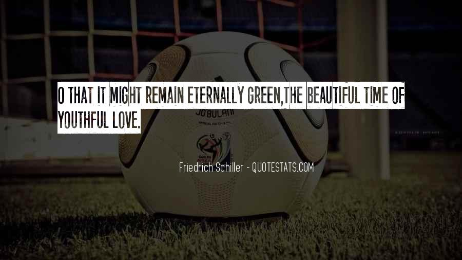 Quotes About Youthful Love #1007221