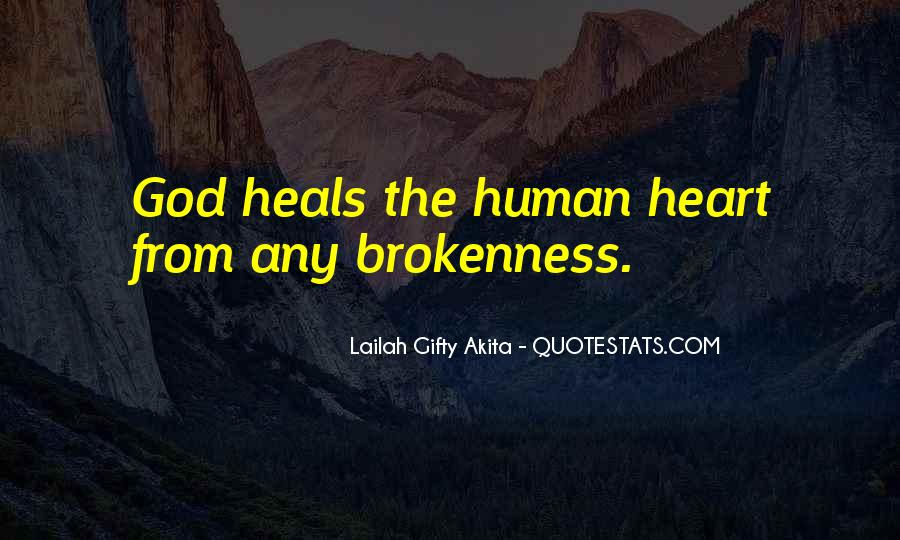 Quotes About God Healing Your Heart #875596
