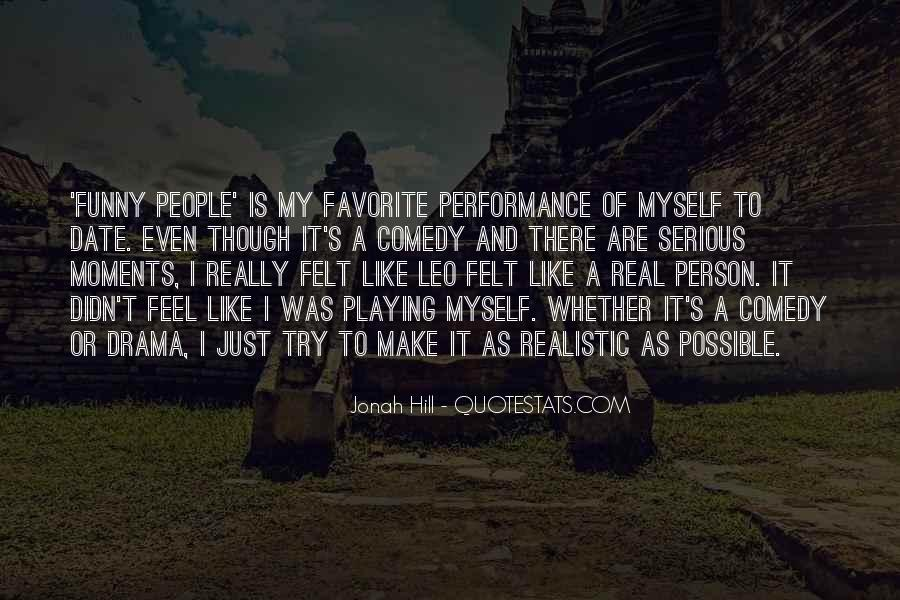 Quotes About Serious Person #1170302