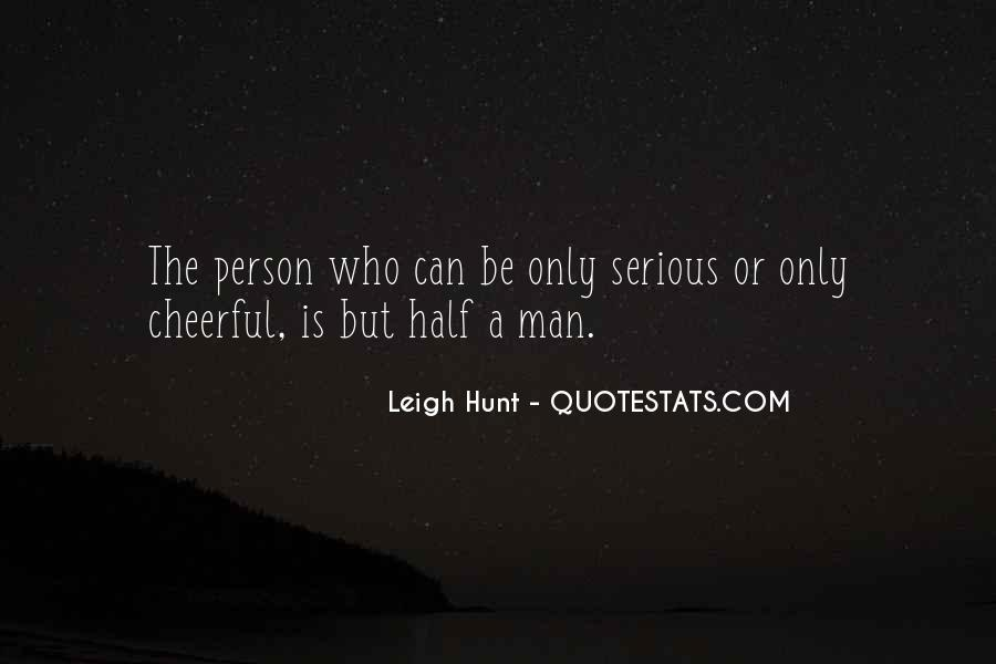 Quotes About Serious Person #1375858
