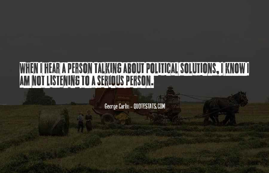 Quotes About Serious Person #1434400