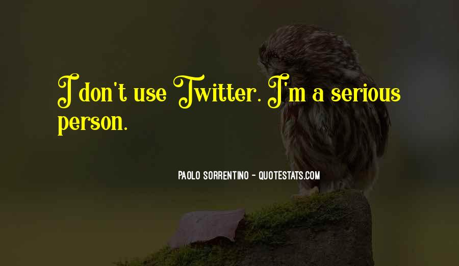 Quotes About Serious Person #194623