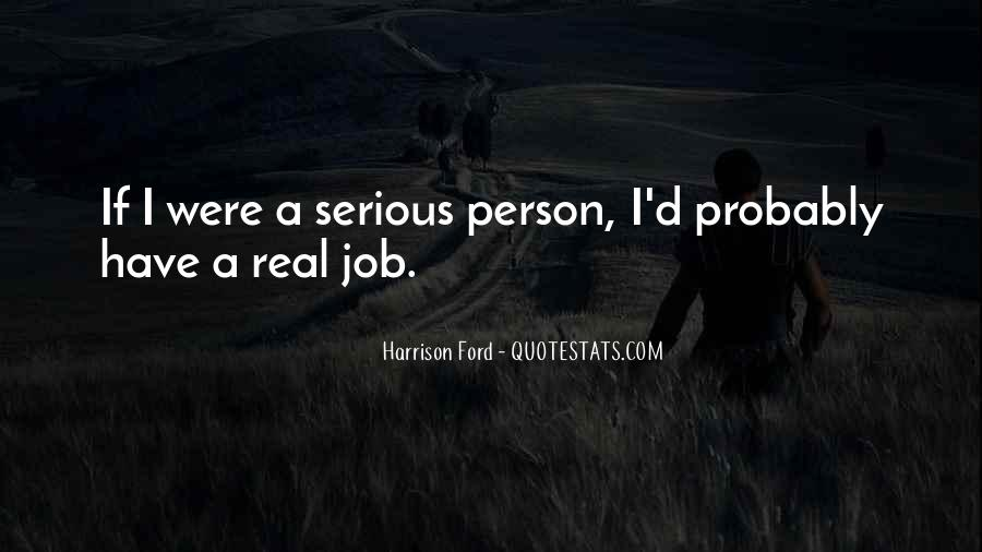 Quotes About Serious Person #265318