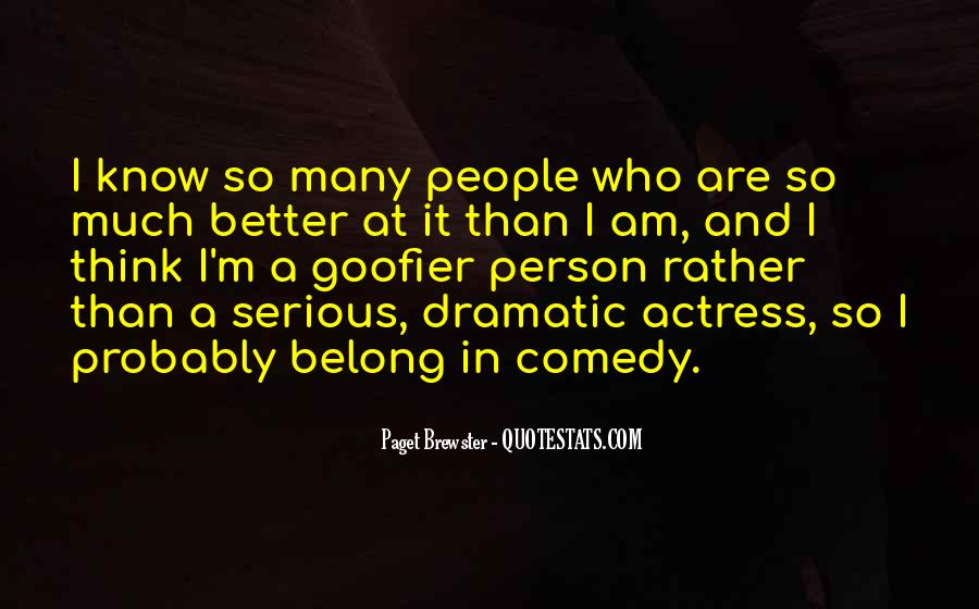 Quotes About Serious Person #332895