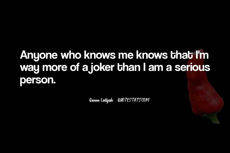 Quotes About Serious Person #422158