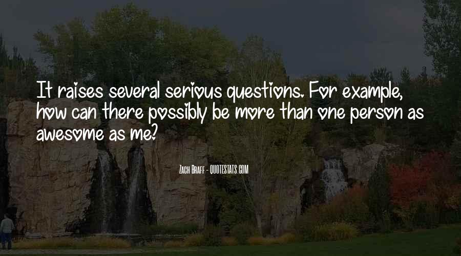 Quotes About Serious Person #552818