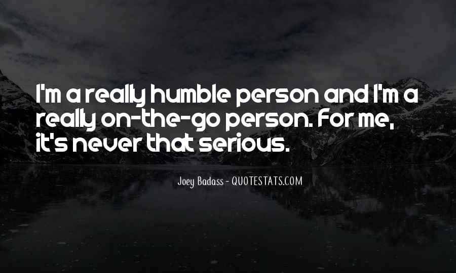 Quotes About Serious Person #72382