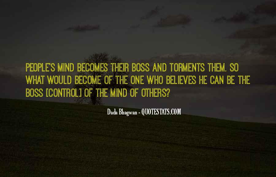 Quotes About Control Of The Mind #122763