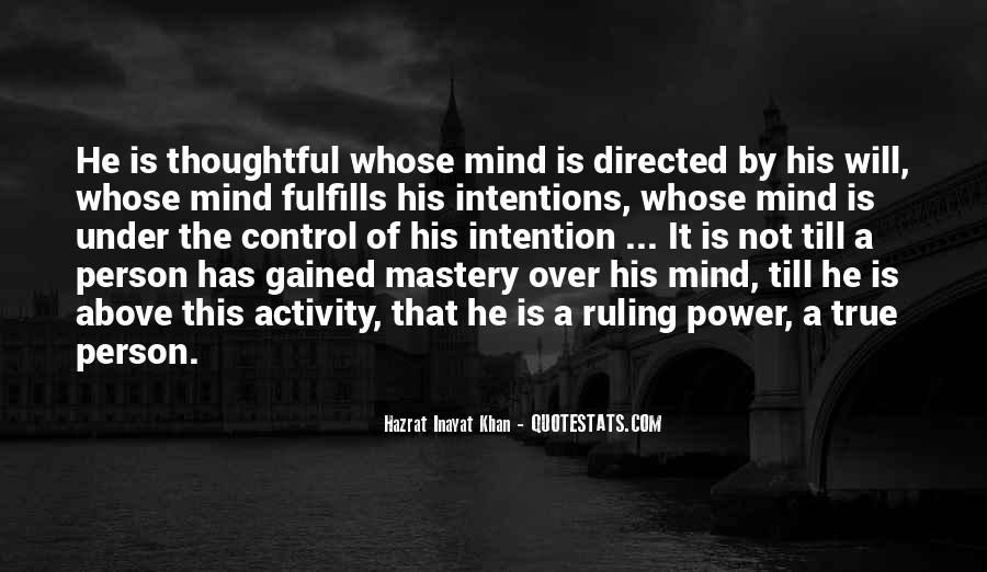 Quotes About Control Of The Mind #123582