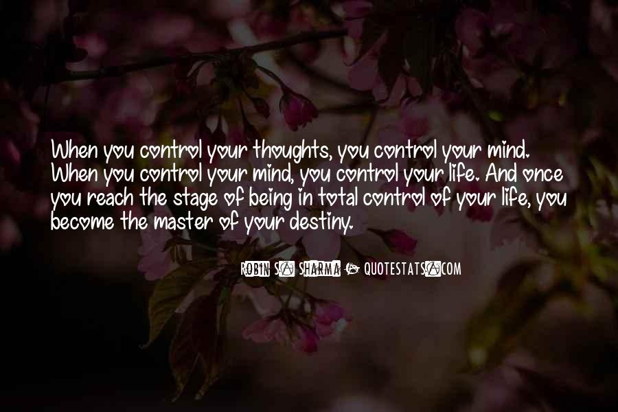 Quotes About Control Of The Mind #183066