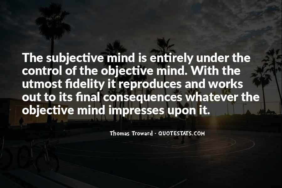 Quotes About Control Of The Mind #191940