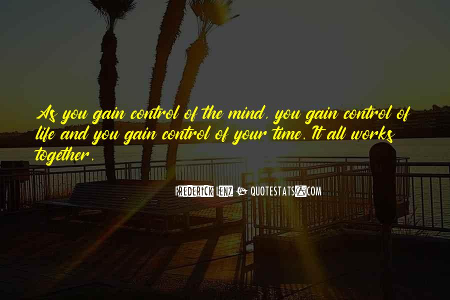 Quotes About Control Of The Mind #232385