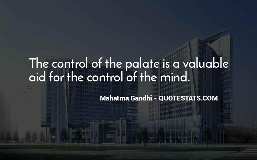 Quotes About Control Of The Mind #273404