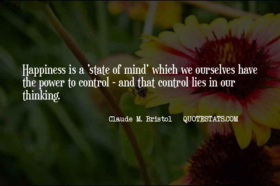 Quotes About Control Of The Mind #40222